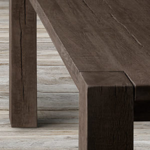 Wormwood Dining Table J Hoffman Lumber Company